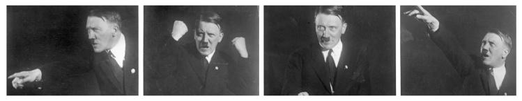 Adolf Hitler, speaking poses, 1930